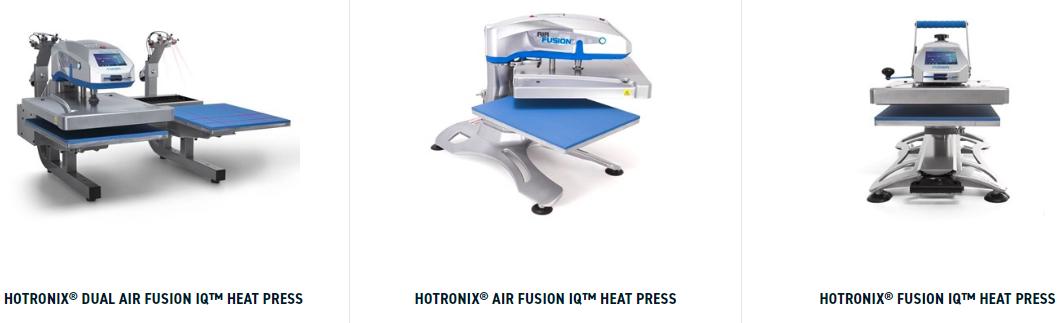 Fusion IQ uk heat press