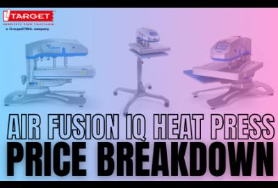 hotronix AIR FUSION price breakdown