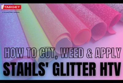 Stahls Glitter HTV Application
