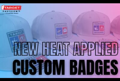 heat applied badges launch