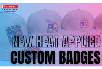 heat applied badges launch