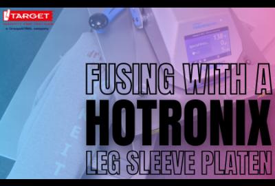 Target Tech Update: Fusing with a Hotronix Leg Platen