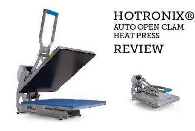 Hotronix® Auto Open Clam Heat Press Review
