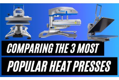 Comparing 3 of the UK's Most Popular Heat Presses