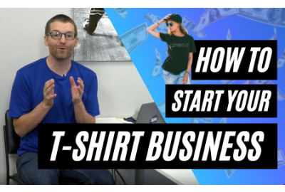How To Start a T-Shirt Business & Make Extra Income from Home
