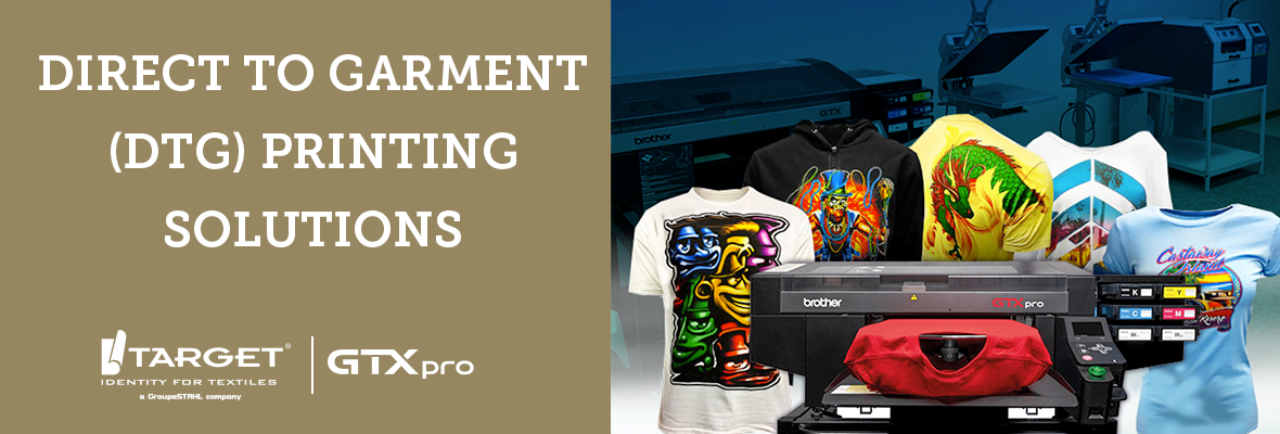 Direct To Garment Printing Solutions (DTG)