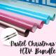 Pastel Christmas HTV Bundle