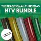 The Traditional Christmas HTV Bundle