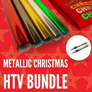 The Metallic Christmas HTV Bundle