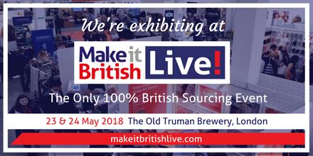 Make it British Live 2018