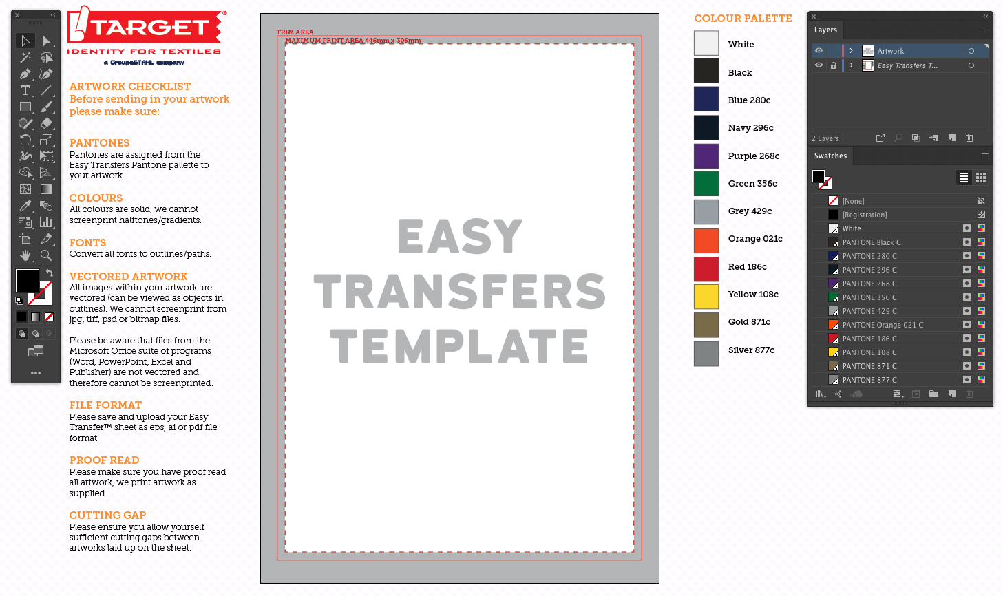 easy transfers artwork download