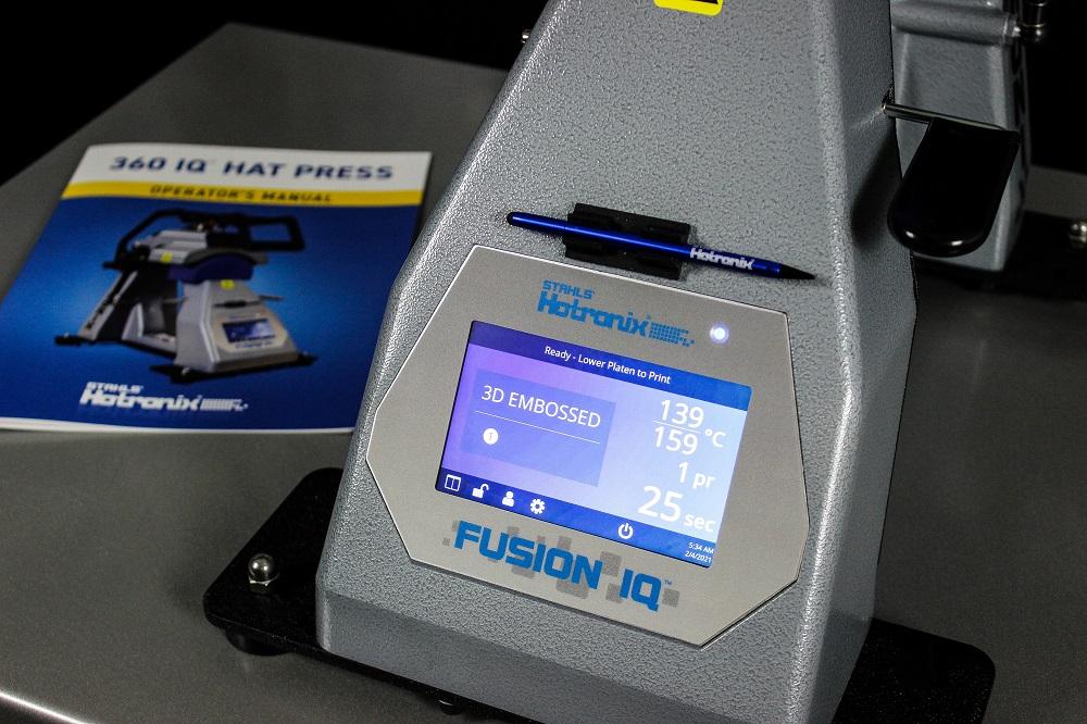 Hotronix 360 Fusion IQ Fusion Hat Heat Press