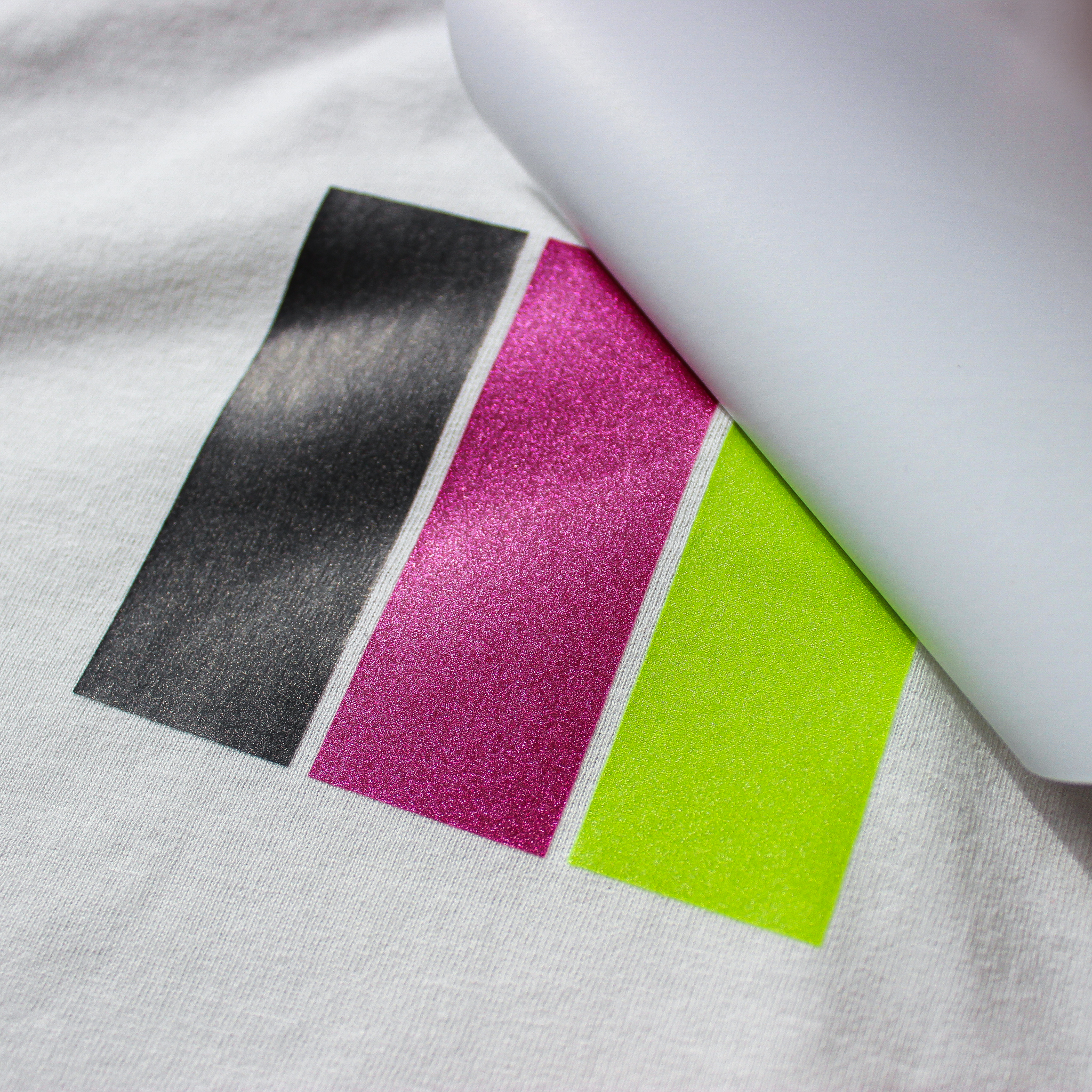 Limited Edition Shimmer Inks - Screen Printed Heat Transfers