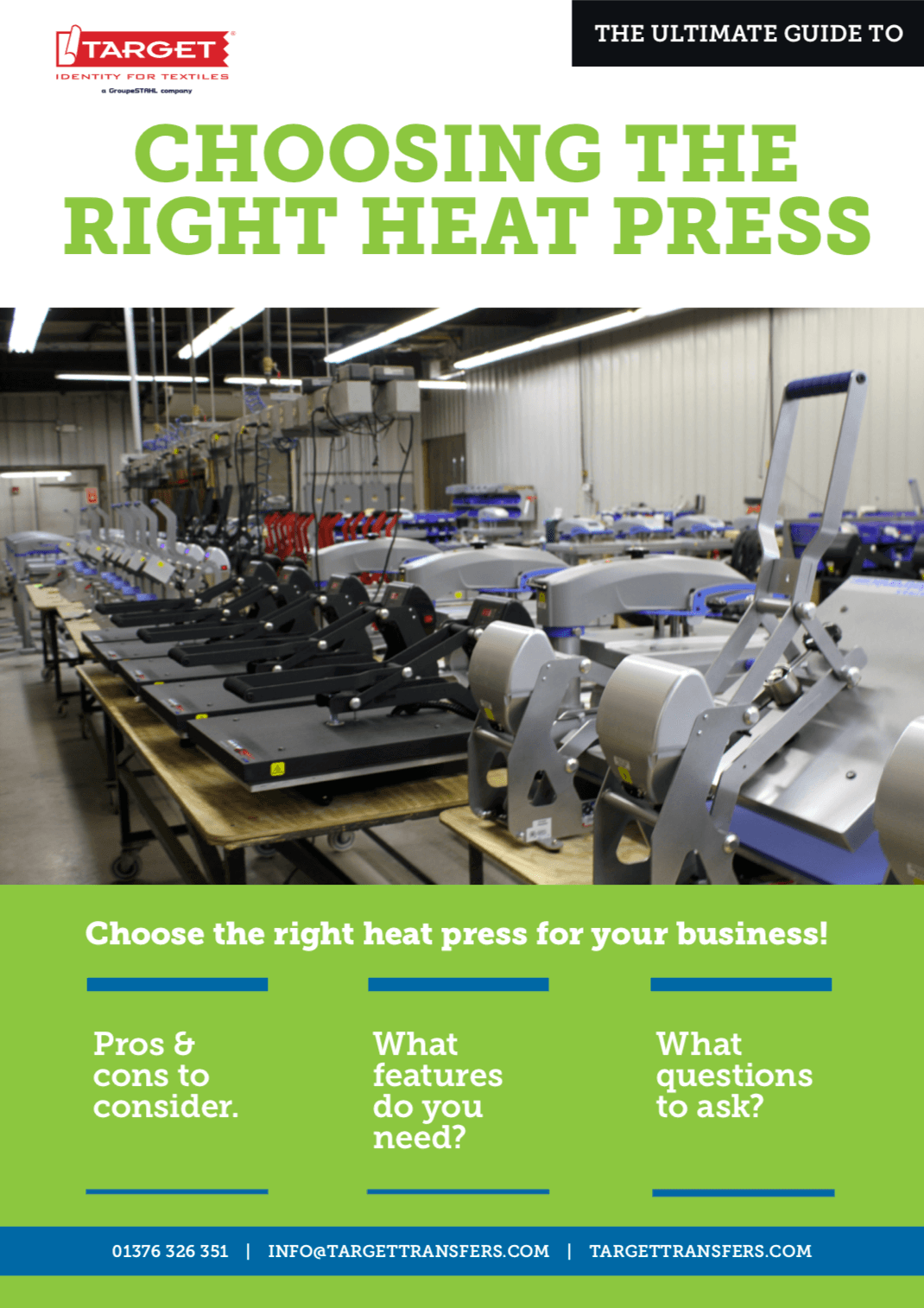 Download Our Free E-Book: Heat Press Buying Guide