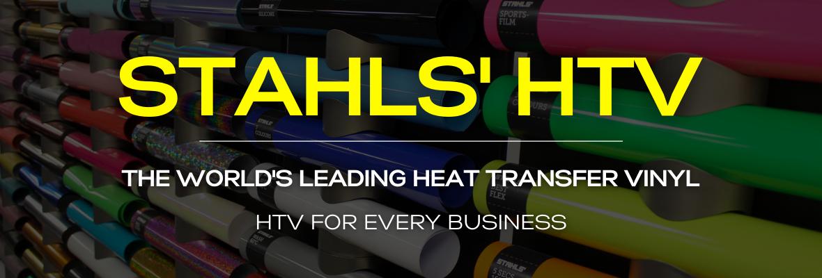 Stahls HTV Website Header Banner