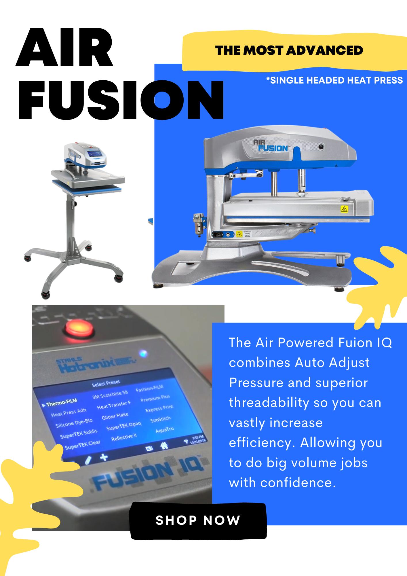 Hotronix Air Fusion IQ Heat Press