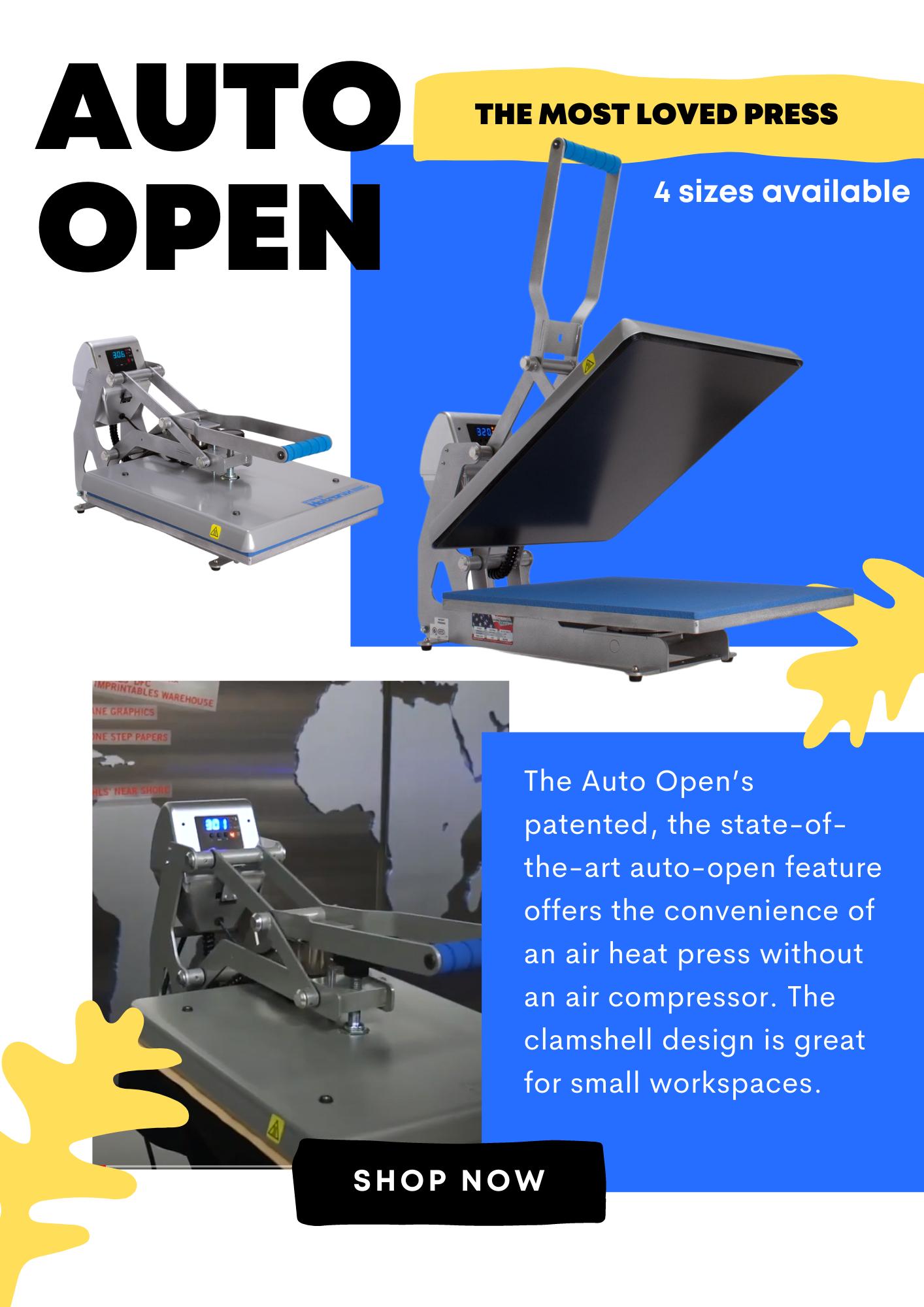 Hotronix Auto Open Heat Press