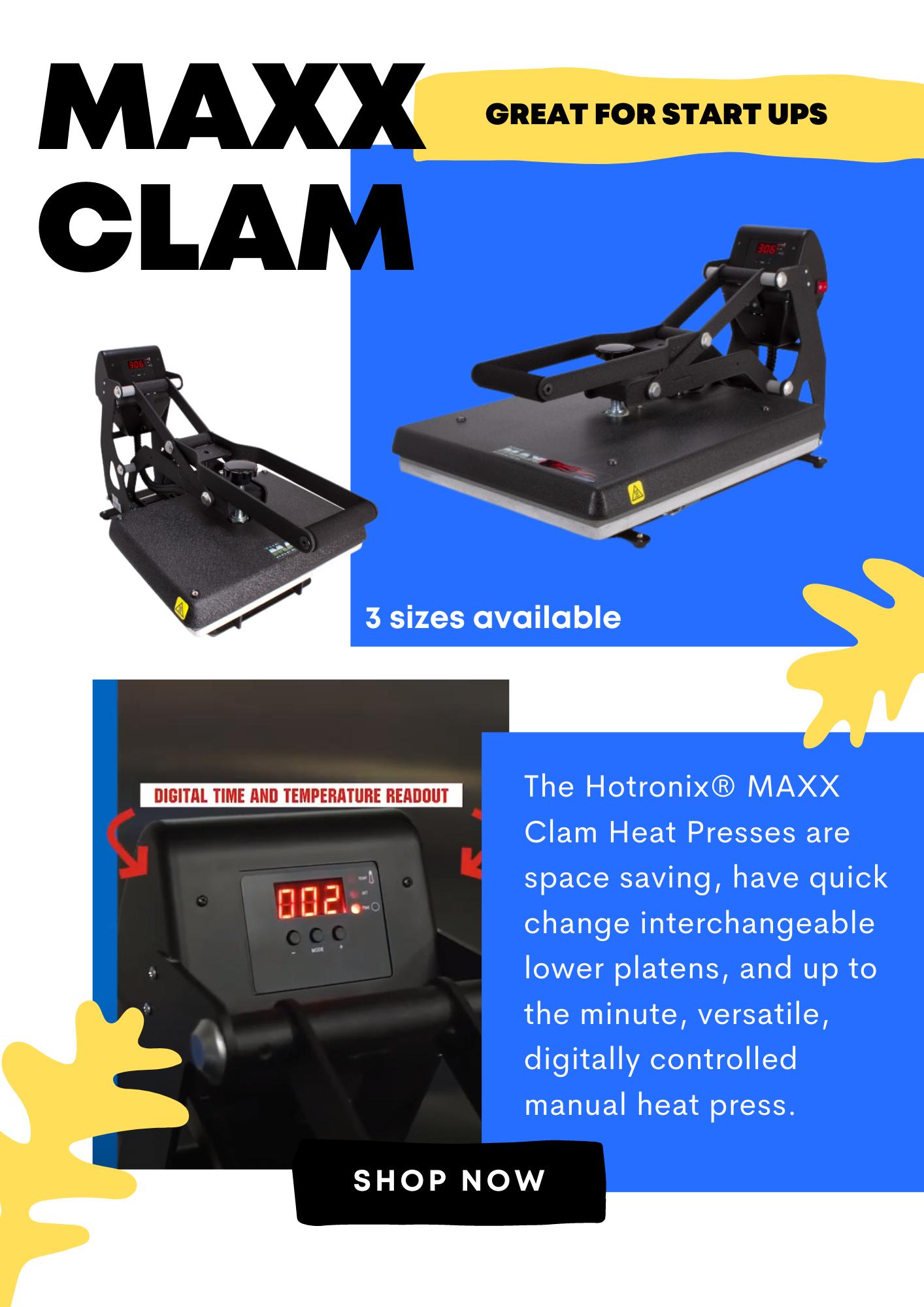 Hotronix MAXX Clam Heat Press
