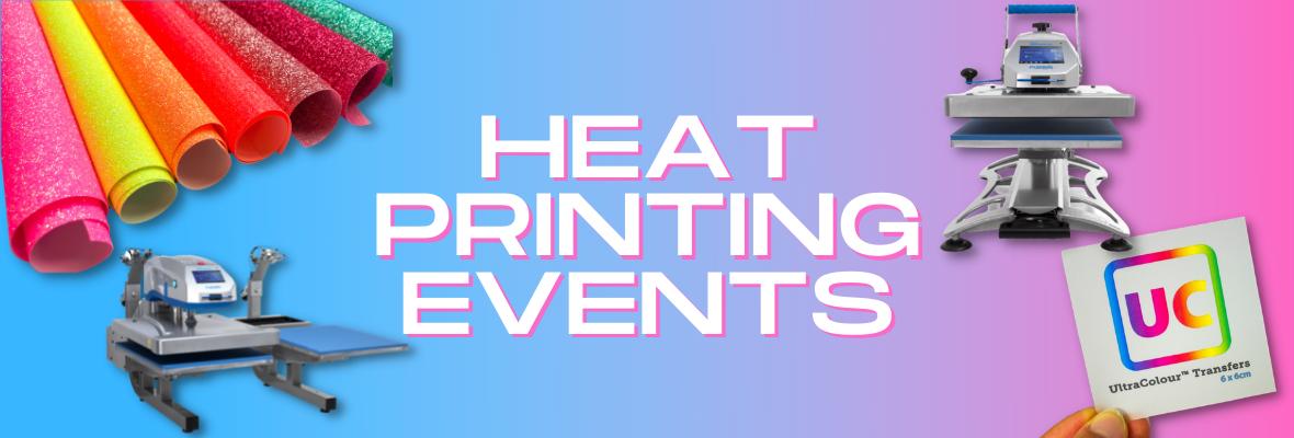 heat printing events