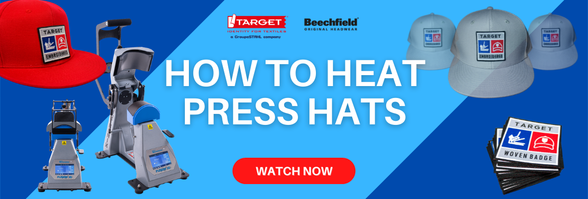 how to heat press hats