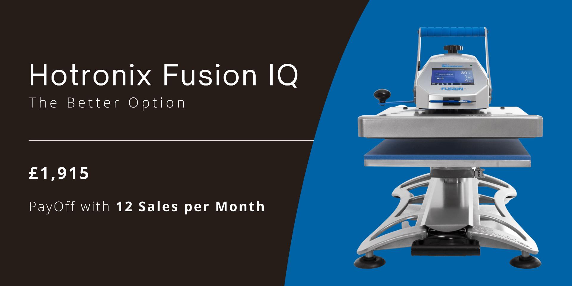 Hotronix Fusion IQ Heat Press