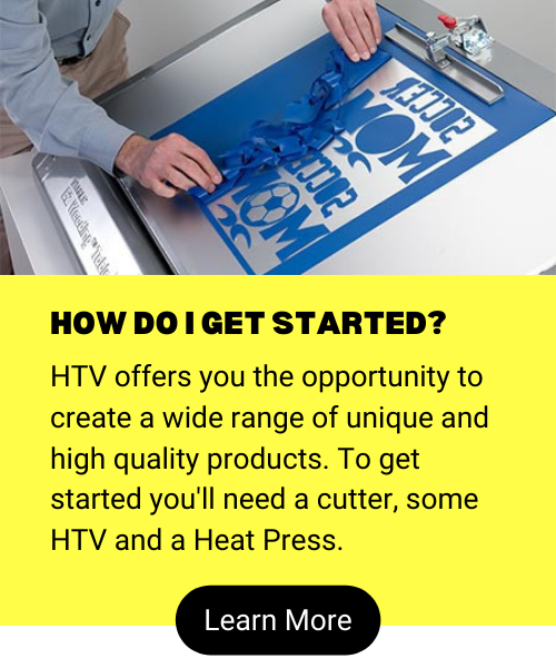 How To Get Started with Heat Transfer Vinyl (HTV)