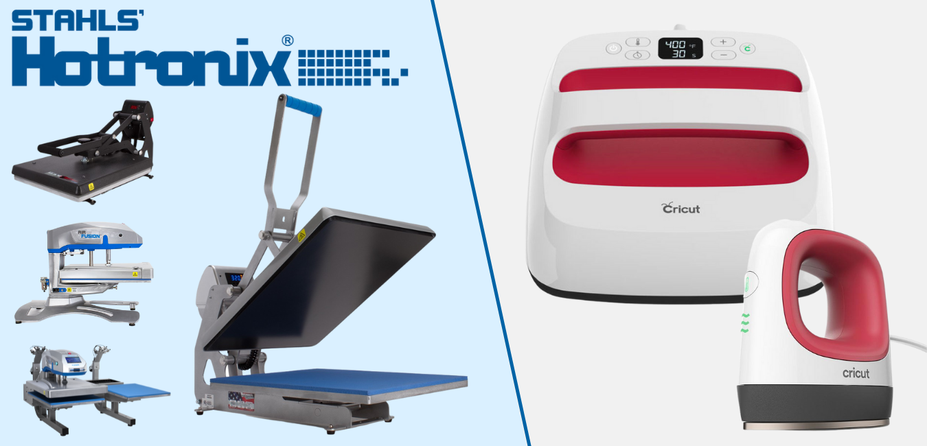 Hotronix vs Cricut Heat Press | Which is better?