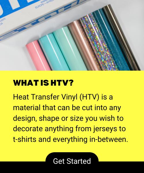 What is Heat Transfer Vinyl (HTV)