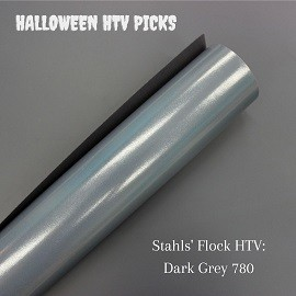 Grey Flock Halloween HTV