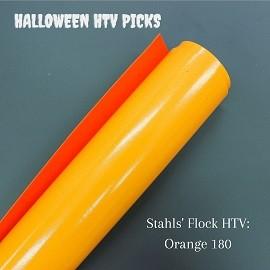 Orange Flock Halloween HTV