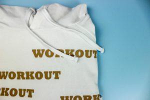 close up, premium plus workout hoodie
