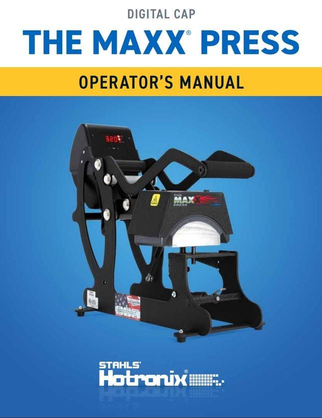 hotronix maxx cap heat press