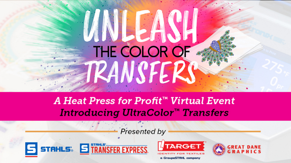 unleash the colour of transfers event